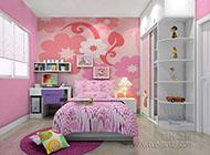 夢幻可愛的兒童房裝修效果圖