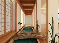 奢華走廊裝修設計圖片