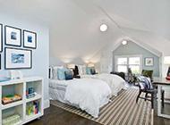 暮雪中的儿童卧室装修效果图
