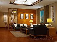 古典与时尚并存的办公室装修效果图