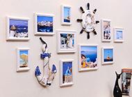 地中海風格相片墻設計效果圖