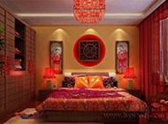 温馨甜蜜的婚房卧室布置效果图大全