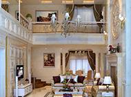 美式复式别墅混搭房装修效果图欣赏