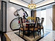 典雅精美中式餐厅设计效果图