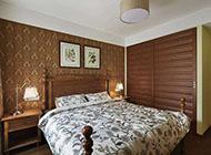 古樸典雅的實木衣柜圖片