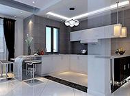 简约风格现代厨房装修效果图
