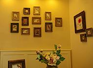 家庭客廳相片墻設計圖片欣賞
