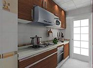 时尚简单小户型厨房设计效果图