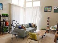 复式公寓装修效果图 风格浪漫温馨