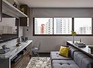 小户型公寓简约时尚装修效果图