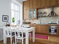 英伦风格简约厨房装修效果图欣赏