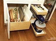 橱柜拉篮收纳柜装修设计图
