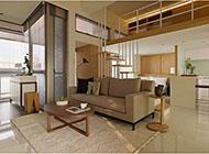 线条打造的舒适公寓设计风格图片赏析