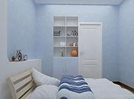 最新时尚简约的卧室装修图片