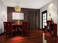 中国风浓郁的中式餐厅设计装修