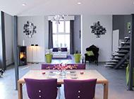 复式四居室装修方案大方豪华