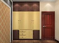 简约实用的卧室衣柜设计图片