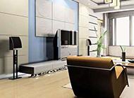 现代欧式电视墙装修效果图