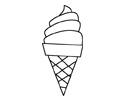 冰淇淋简笔画图片