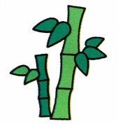 少儿彩色竹子简笔画图片