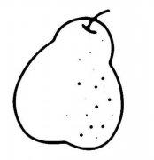 梨的简笔画图片