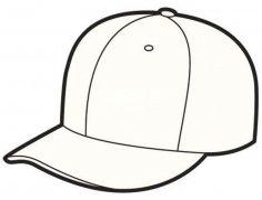 幼儿棒球帽简笔画图片