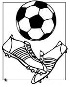 幼儿足球鞋简笔画图片