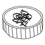 月饼简笔画画法