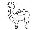 骆驼简笔画图片