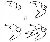燕子怎样画