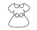 简单的小裙子简笔画画法和步骤