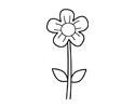 小花朵简笔画包含步骤图