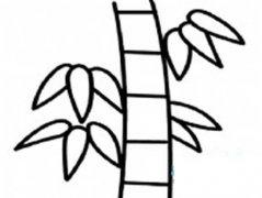 儿童手绘竹子简笔画图片
