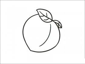 桃子怎么画
