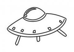 儿童ufo简笔画图片大全