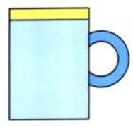 幼儿园彩色杯子简笔画图片