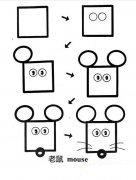 如何画米奇老鼠简笔画