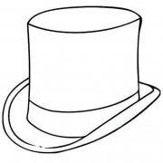 魔术帽简笔画图片