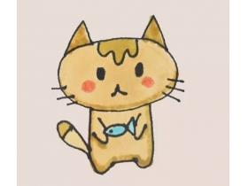 小猫简笔画