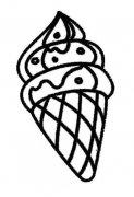 儿童冰淇淋简笔画图片大全