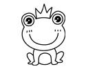 带皇冠的小青蛙简笔画图片包含步骤