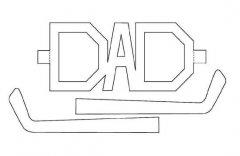 小学生父亲节创意眼镜简笔画图片大全