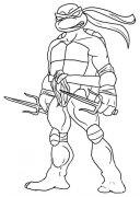 忍者神龟拉斐尔简笔画图片