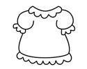 可爱小裙子简笔画包含步骤