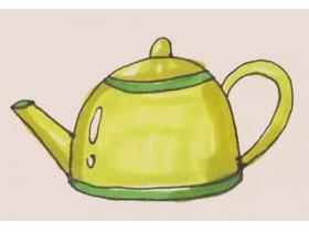 茶壶简笔画