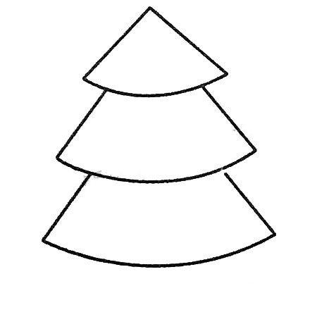 松树简笔画图片及画法步骤