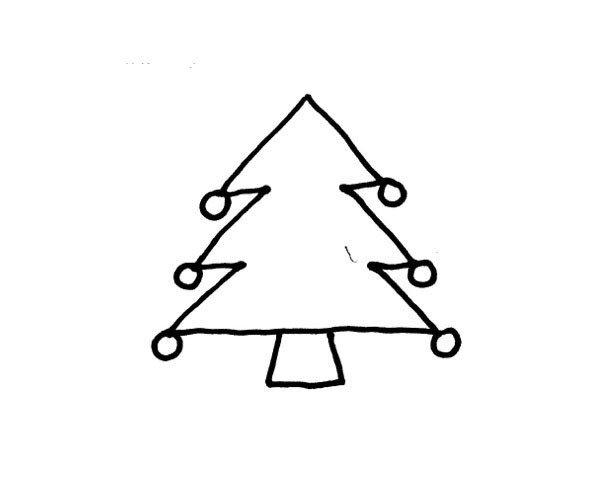松树简笔画图片4