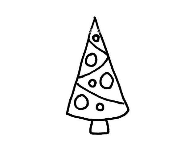 松树简笔画图片2