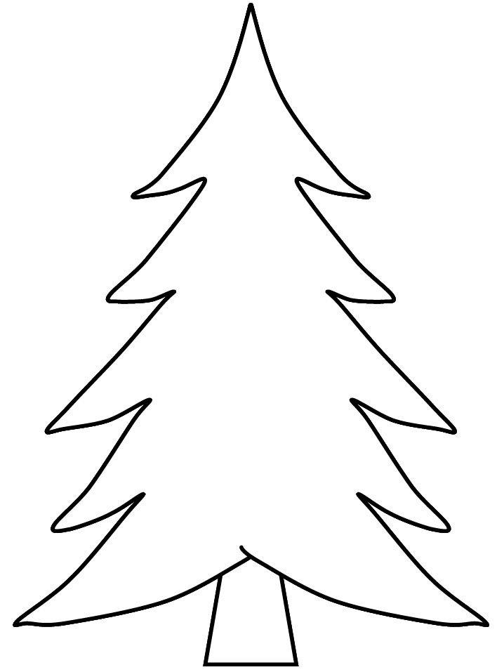 超简单松树简笔画