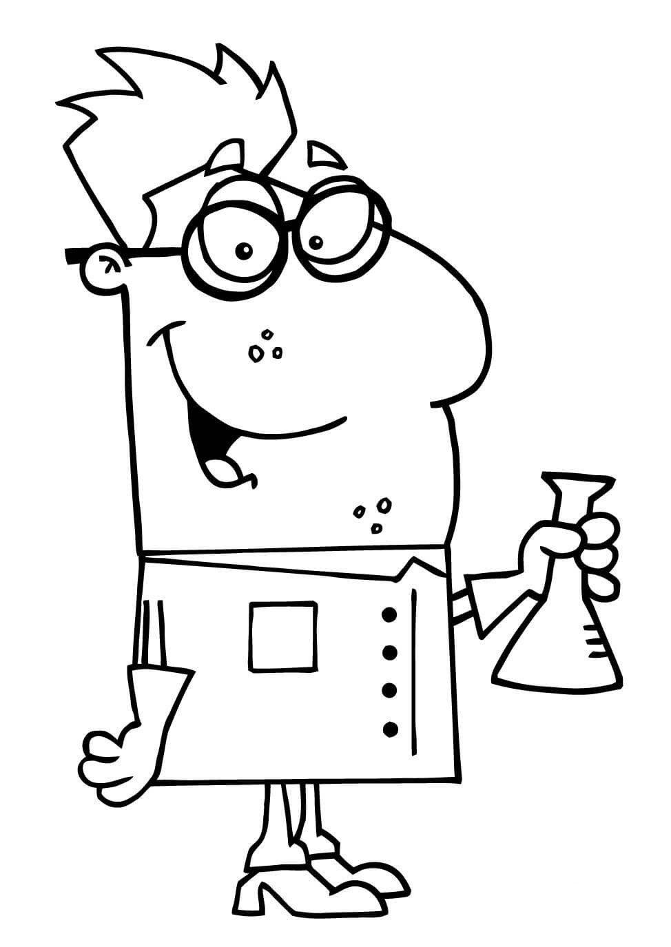卡通化学家